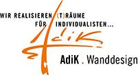 AdiK – Wanddesign, Gestaltung von Wandoberflächen mit Naturprodukte